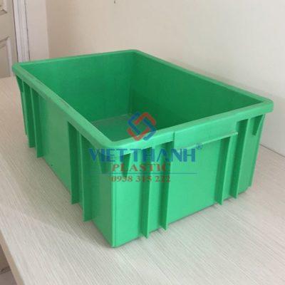 Thùng nhựa đặc – Sóng bít B3