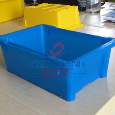 Thùng nhựa đặc A4 – sóng bít A4