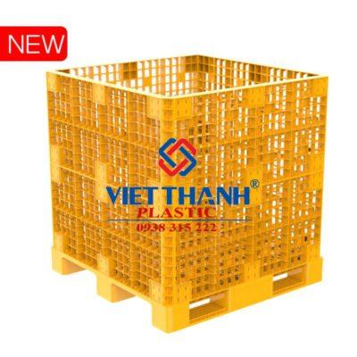 Pallet nhựa lắp ghép PALLET BOX 1,2m
