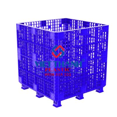 Pallet sóng nhựa lắp ghép PALLET BOX 1,2m