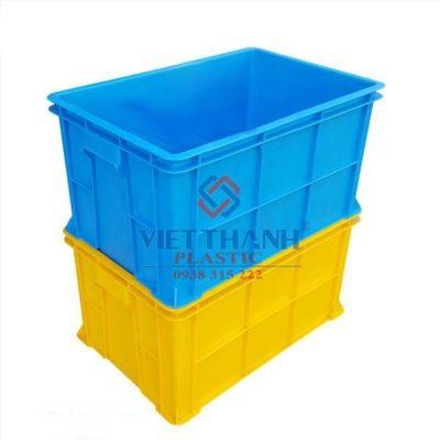 Thùng nhựa đặc – Sóng bít B5