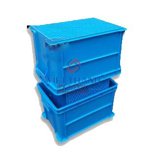Thùng nhựa đặc – Sóng bít B6