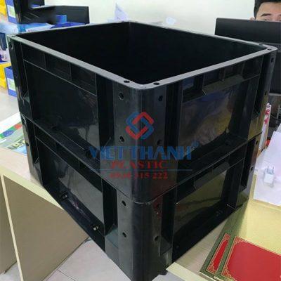 Thùng nhựa đặc – sóng bít công nghiệp HS001