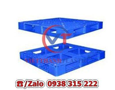 Pallet Nhựa Liền Khối PL15-LK