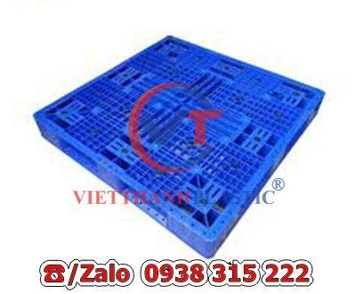 Pallet Nhựa Liền Khối PL16-LK