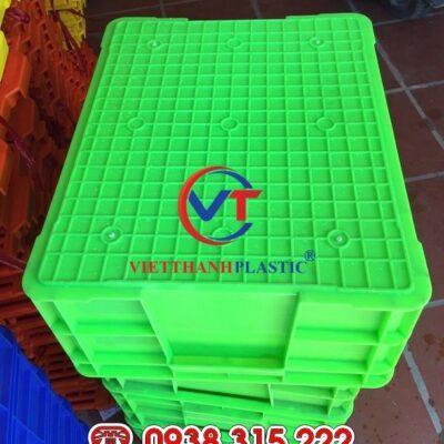 Thùng nhựa đặc KPT02 – Sóng bít 2T2