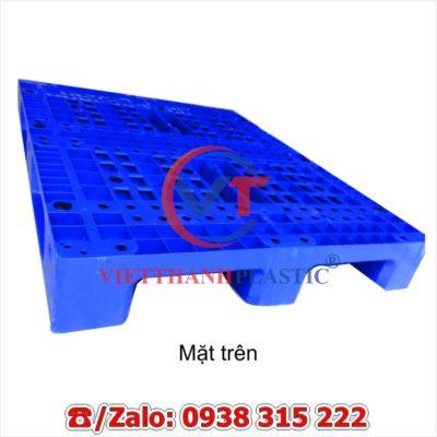 Pallet Nhựa Liền Khối Lõi Sắt MPL10-LS