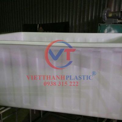 Thùng Nhựa Dung Tích Lớn Dệt Nhuộm Vải 2000L