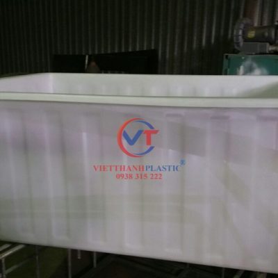 Thùng Nhựa Dung Tích Lớn Dệt Nhuộm Vải 1800L