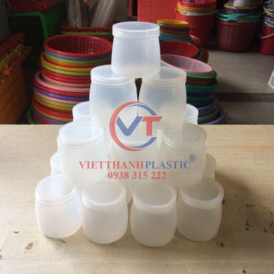 Hũ nhựa đựng sữa chua nếp cẩm