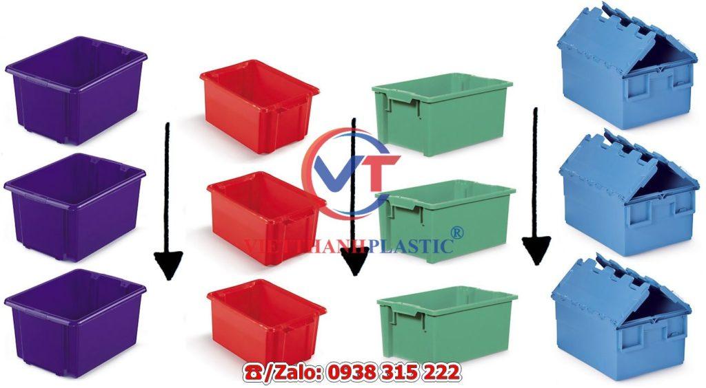 Một thùng nhựa container lưu trữ là gì?