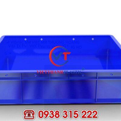 Thùng nhựa đặc HS006 – Sóng bít 1T1