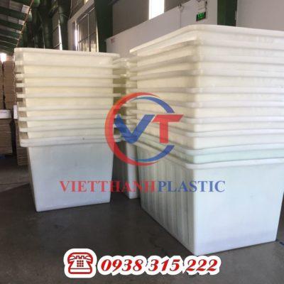 Thùng Nhựa Dung Tích Lớn 1000L Cao Dệt Nhuộm Vải