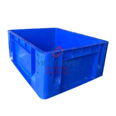 Thùng nhựa đặc - sóng bít công nghiệp HS001