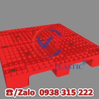 Pallet Nhựa Liền Khối PL06-LK