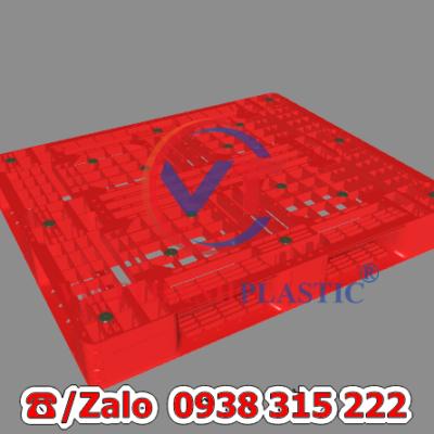 Pallet Nhựa Liền Khối PL08-LK