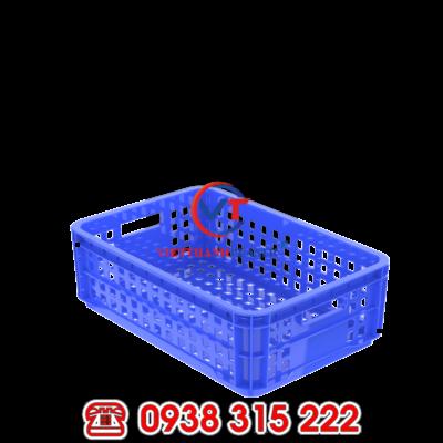 Thùng nhựa rỗng 1T8 – sóng nhựa chuyên dùng kho lạnh HS020