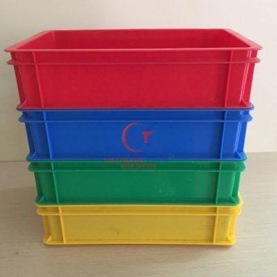 Thùng nhựa đặc – Sóng bít B2
