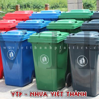 Thùng rác nhựa HDPE 160 lít